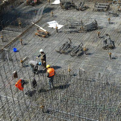 工事基礎の現場