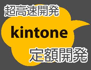 超高速開発 kintone定額開発