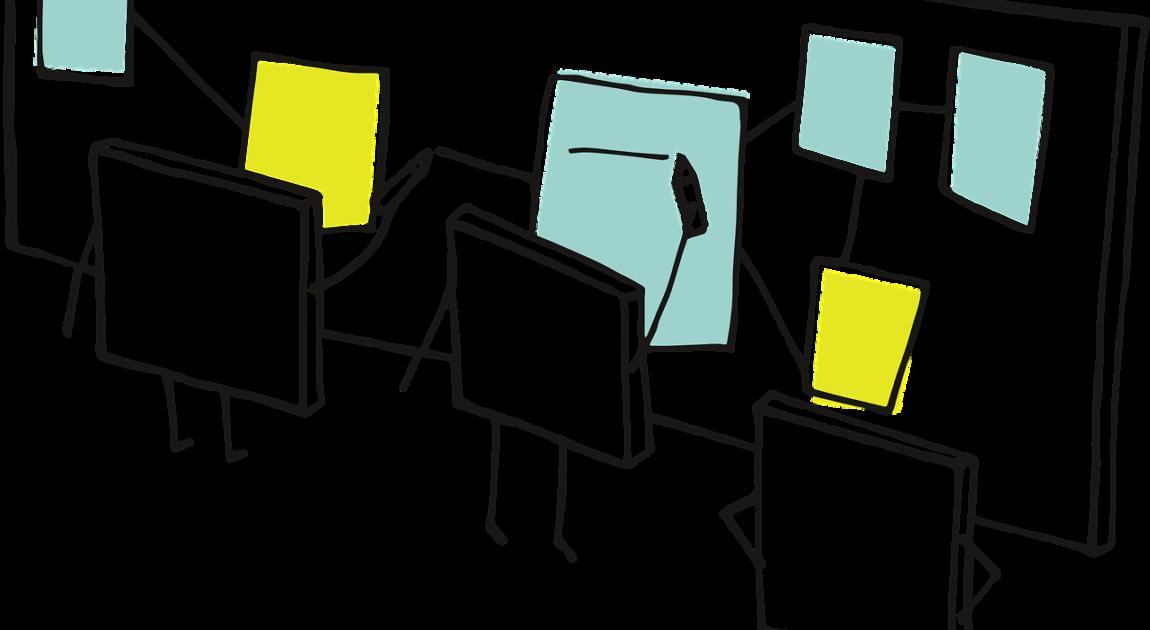 業務フロー図を書くイメージ