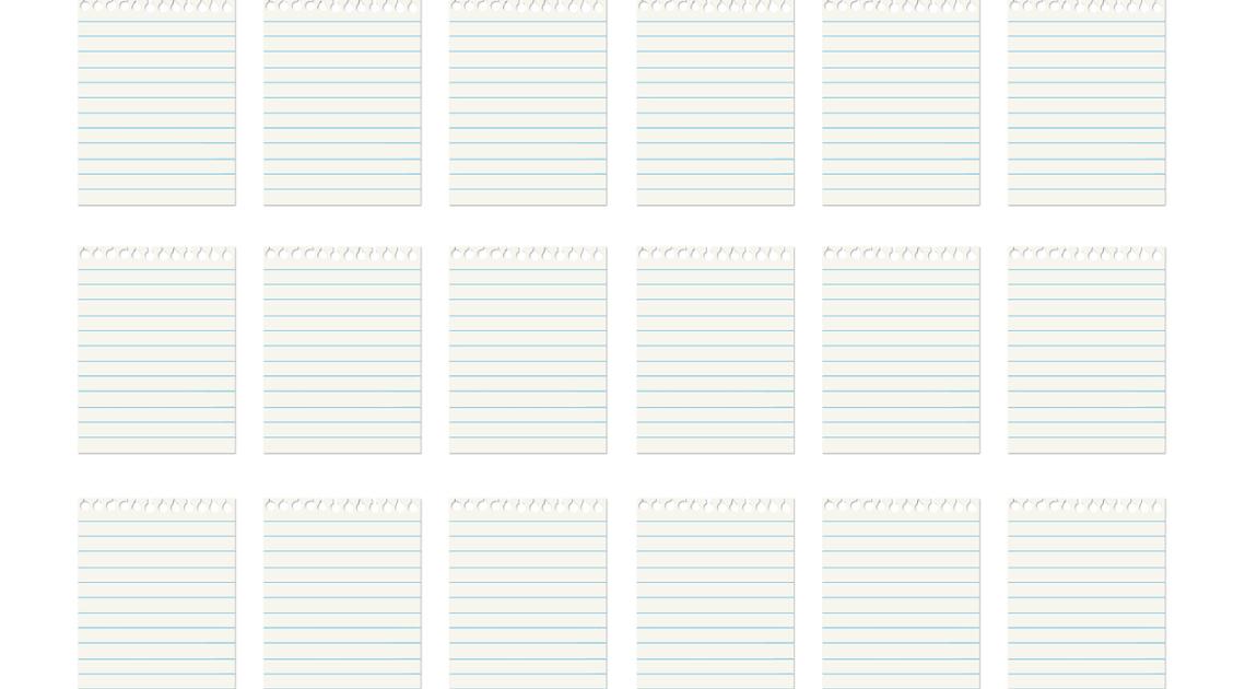 ノートのリスト